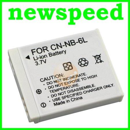 Grade A NB-6L Li-Ion Battery for Canon SD1300 SD3500 SD4000 IXY 25
