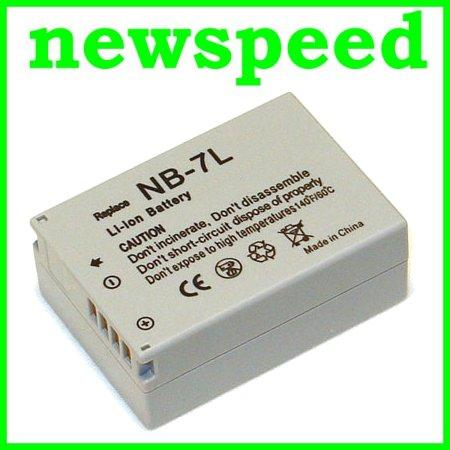 Grade A NB-7L Li-Ion Battery for Canon SX30 G12 G11 G10 NB7L