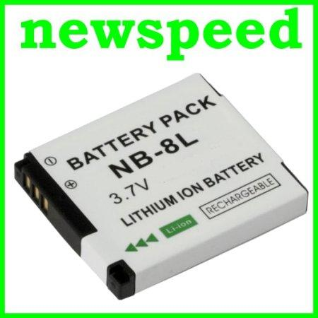 Grade A NB-8L Rechargeable Li-Ion Battery for Canon A3300 A3200 NB8L