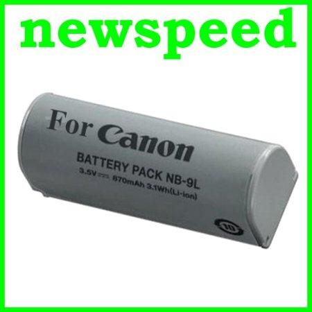 Grade A NB-9L Li-Ion Battery for Canon SD4500 ELPH 510 520 530 NB9L