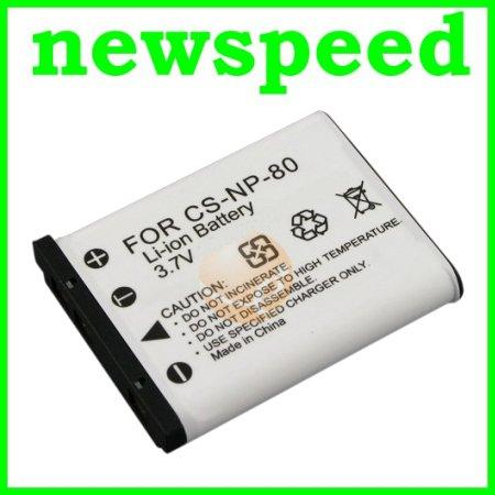 Grade A NP-80 Battery for Casio Z35 Z115 Z200 Z270 Z280 NP80