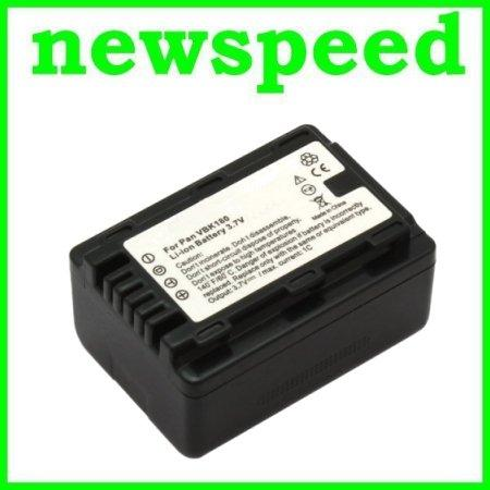 Grade A VW-VBK180 Battery for Panasonic SD40 SD60 SD80 SD90 SDX1