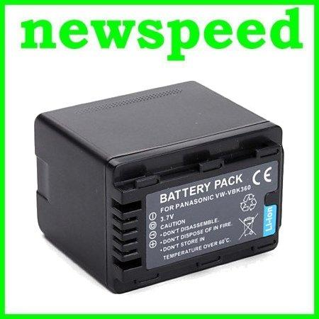 Grade A VW-VBK360 Li-Ion Battery for Panasonic HS80 H85 H95 H100 H101