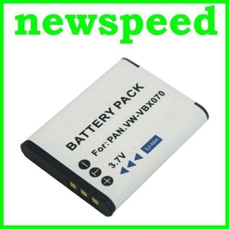 Grade A VW-VBX070 Battery for Panasonic HX-DC15 HX-DC2 HX-WA10