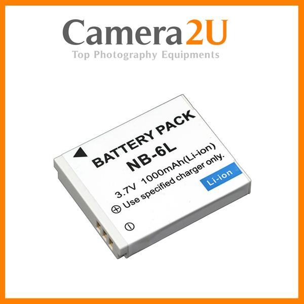 GradeA NB-6L Battery for Canon Powershot SX240 SX170 S95 S90 D30 NB6L