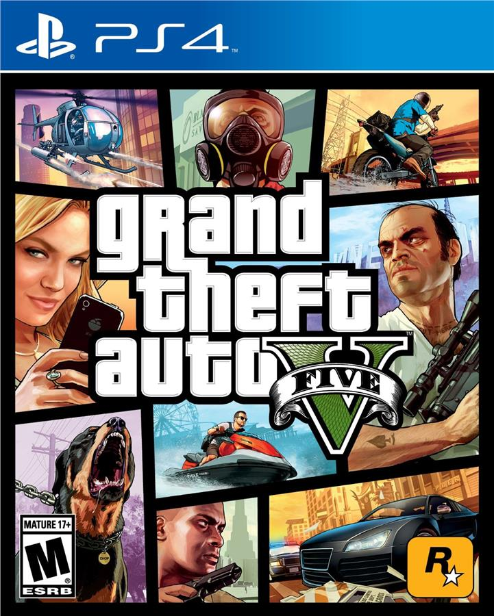 GRAND THEFT AUTO V (PS4/R3/ENG,CHN)