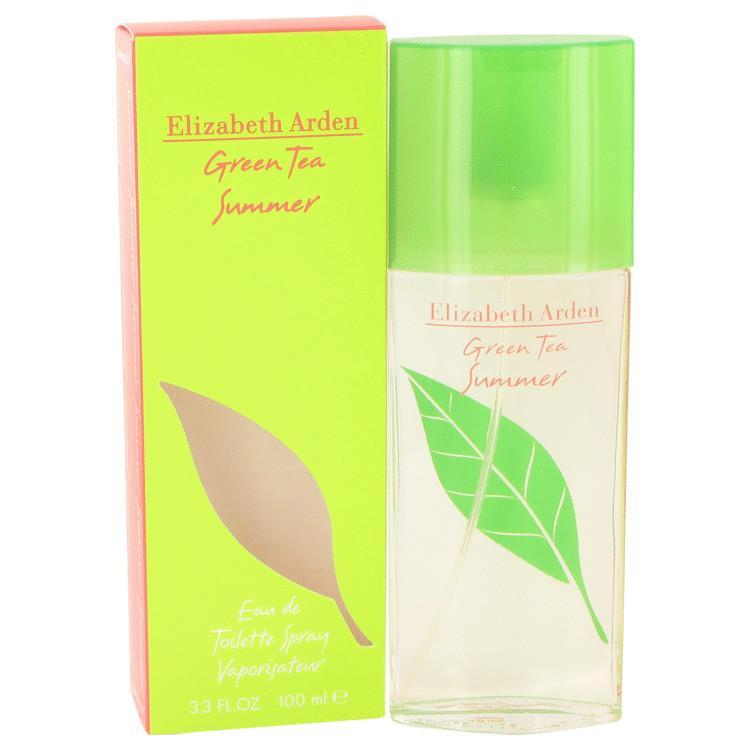Green Tea Summer Perfume By ELIZABETH ARDEN FOR WOMEN 100ml EDT SPRAY