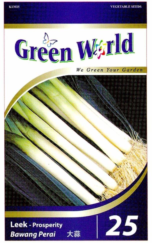 Green World Seeds Bawang Perai @Leek - Prosperity