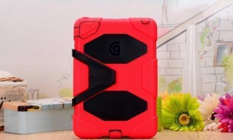 GRIFFIN SURVIVOR ANTI FALL NEW I PAD / 2 / 3 CASE (S12676) RED+BLACK