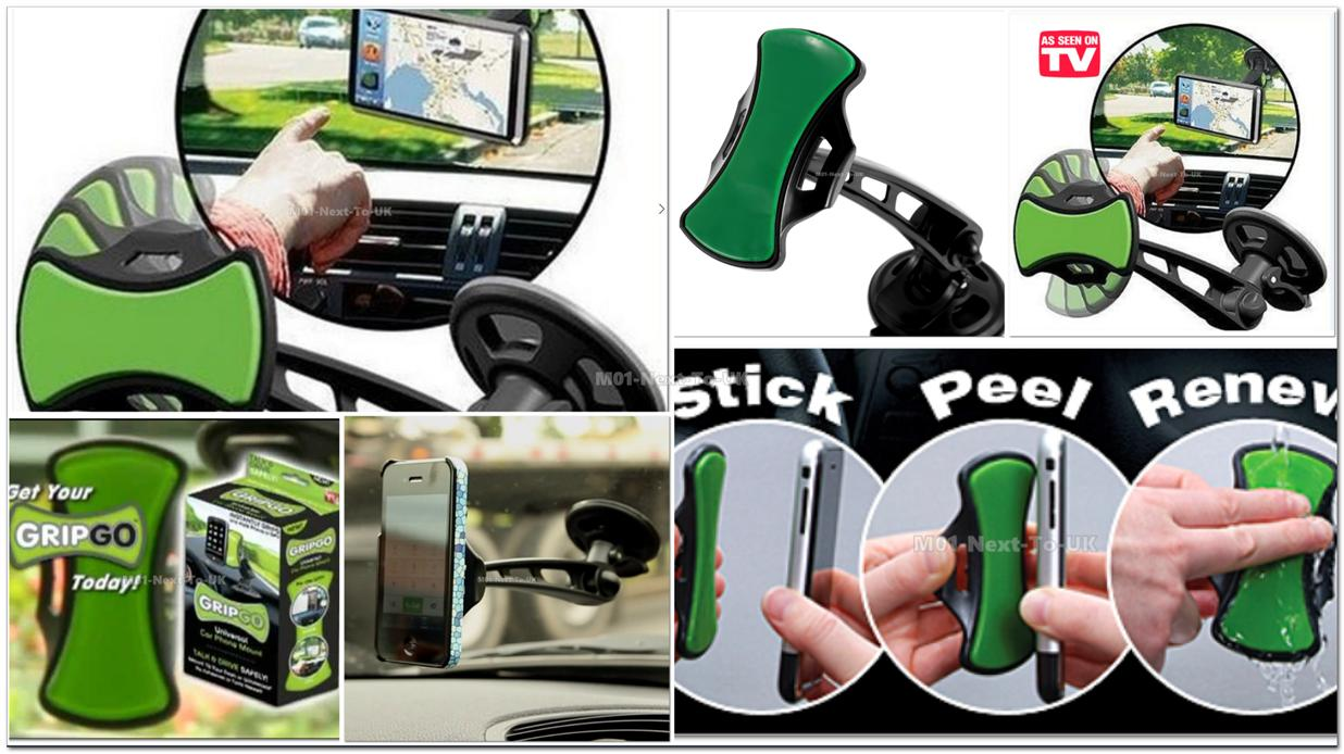 GRIPGO Samsung Galaxy S S1 S2 S3 S4 mini Active Note 1 2 3 Car Holder