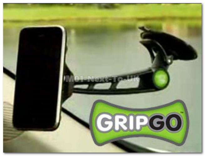 GripGo Universal Car Phone Mount Holder Grip Go As Seen On TV USA Fast