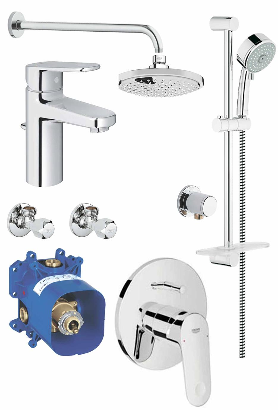 Grohe EuroPlus Package 3