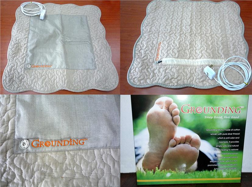 GROUNDING / EARTHING MAT - SMALL CONNECT TO THE EARTH AND FEEL BETTER!