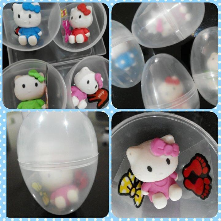 Group buy Cuties hello kitty in the egg - min 30 eggs