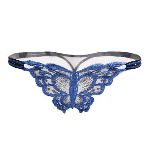 GS2015 Sexy Panties Butterfly Design Woman G-String (3 Colors)