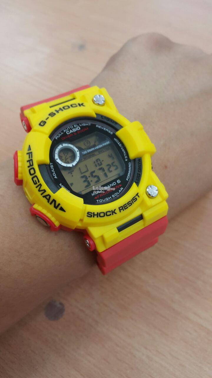 GSHOCK FROGMAN YELLOW RED(LIMITED)