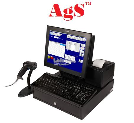 GST FnB TOUCH SCREEN POS System (4 hardware)