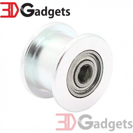 GT2 Pulley Toothless Idler 3mm Bore 6mm Belt Width for 3D Printer