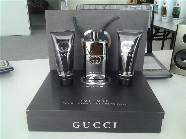Gucci Mens Perfume Set by Gucci Perfume Gift Set