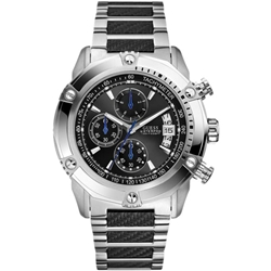 Guess W27509G1 Gents Sport Stainless Steel Chronograph Watch