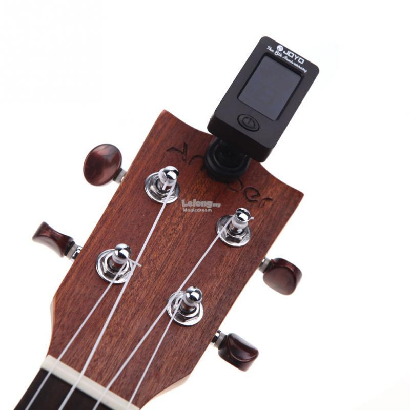 Guitar, Base, Violin & Ukelele Clip-On Digital Tuner