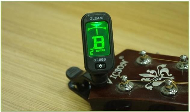 Guitar Electronic Tuner Gleam GT-8GB
