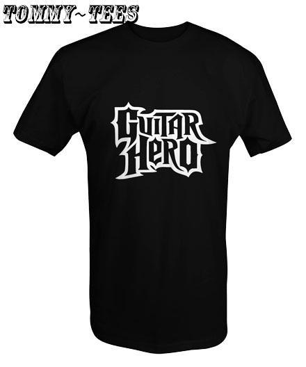GUITAR HERO T-SHIRT WHITE/RED/BLACK (T95)