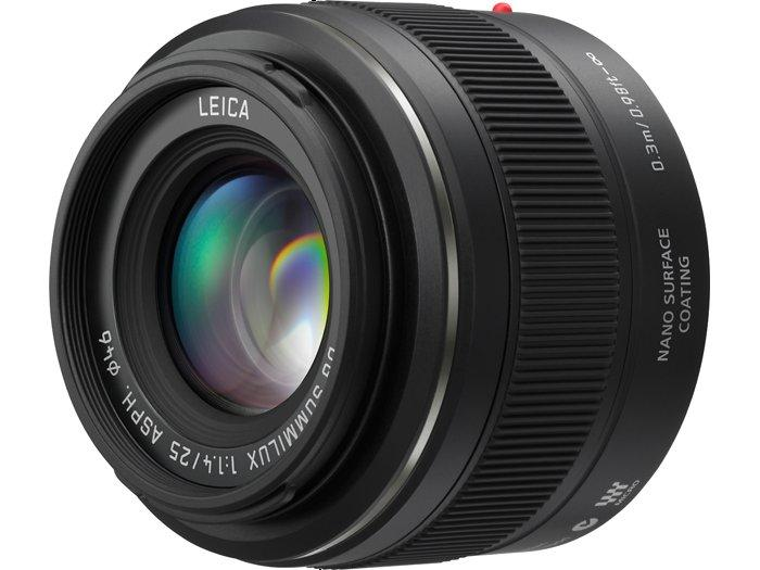 New H-X025 Panasonic LEICA DG SUMMILUX 25mm F1.4 Lens