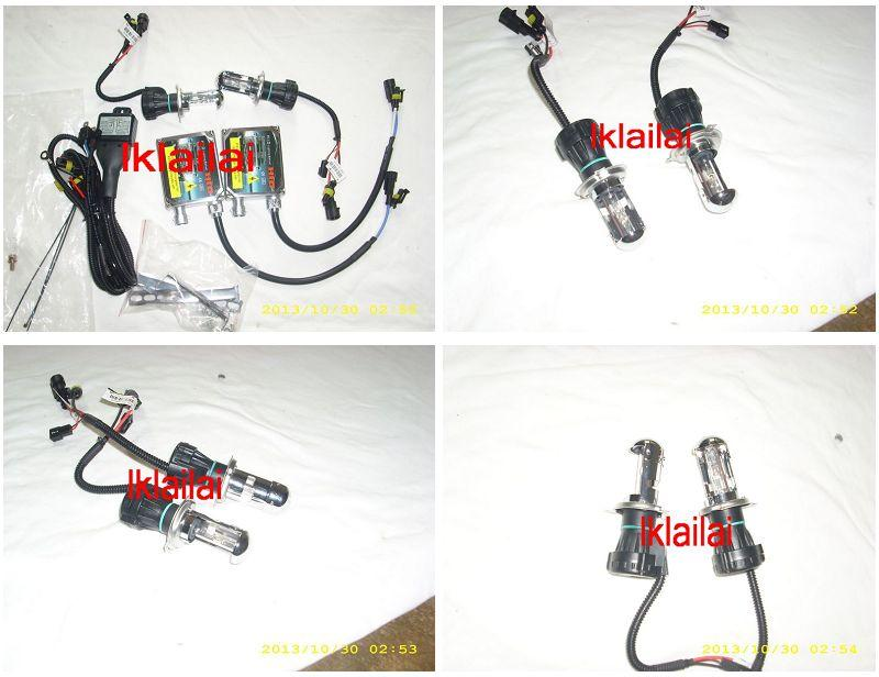 H4 Hi-Low Xenon HID Conversion Kit [4300K/6000K/8000K]