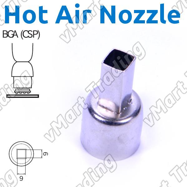 HAKKO A1470 Compatible 8x8mm BGA Hot Air Nozzle
