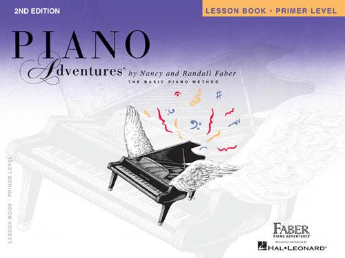 Hal Leonard Piano Adventures Primer Level – Lesson Book, 2nd Edition