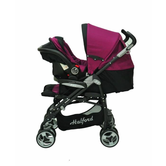 Halford- s8 Pramette Travel System *Purple*