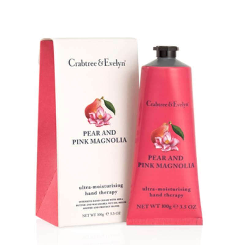 Hand Cream Moisturizing Crabtree & Evelyn Pear and Pink Magnolia 100ml