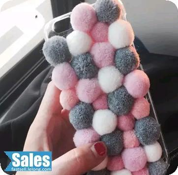 Hand Made Cute Furball iPhone Casing Case Cover