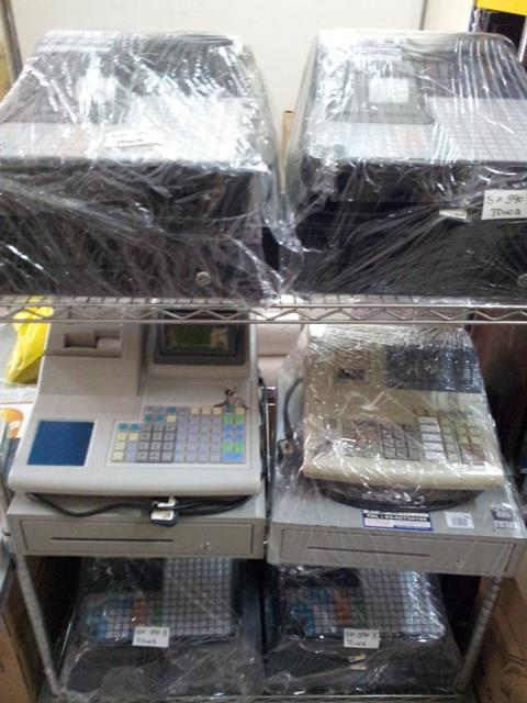 SECOND HAND USED UNIT-ELECTRONIC CASH REGISTER MACHINE MALAYSIA