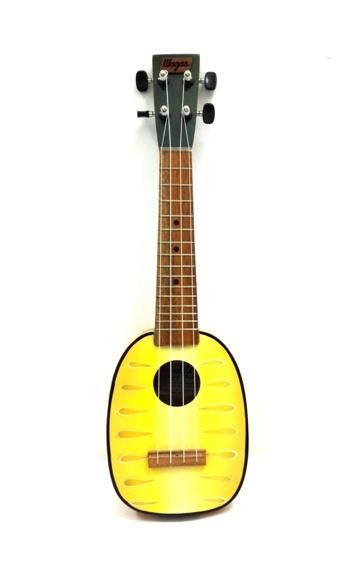 Handcrafted Pineapple Design Ukulele Solid Mahogany