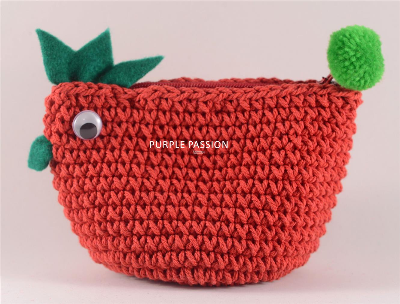 Handmade Crochet Coin Purse, PPCP007