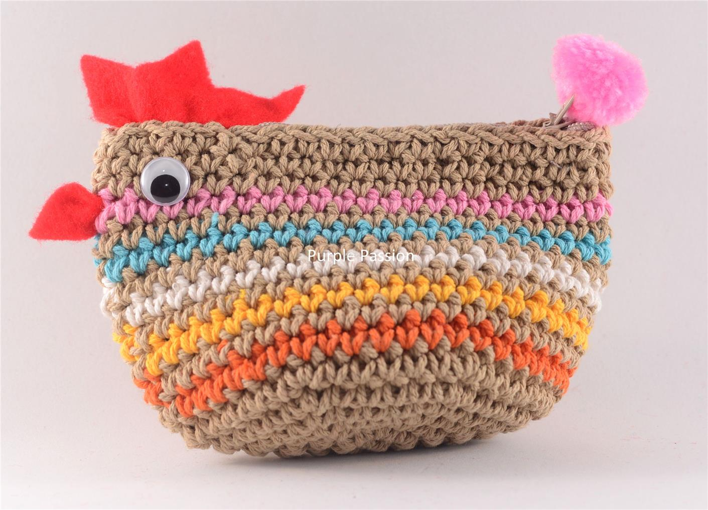 Handmade Crochet Coin Purse (end 10/16/2017 11:15 PM - MYT )