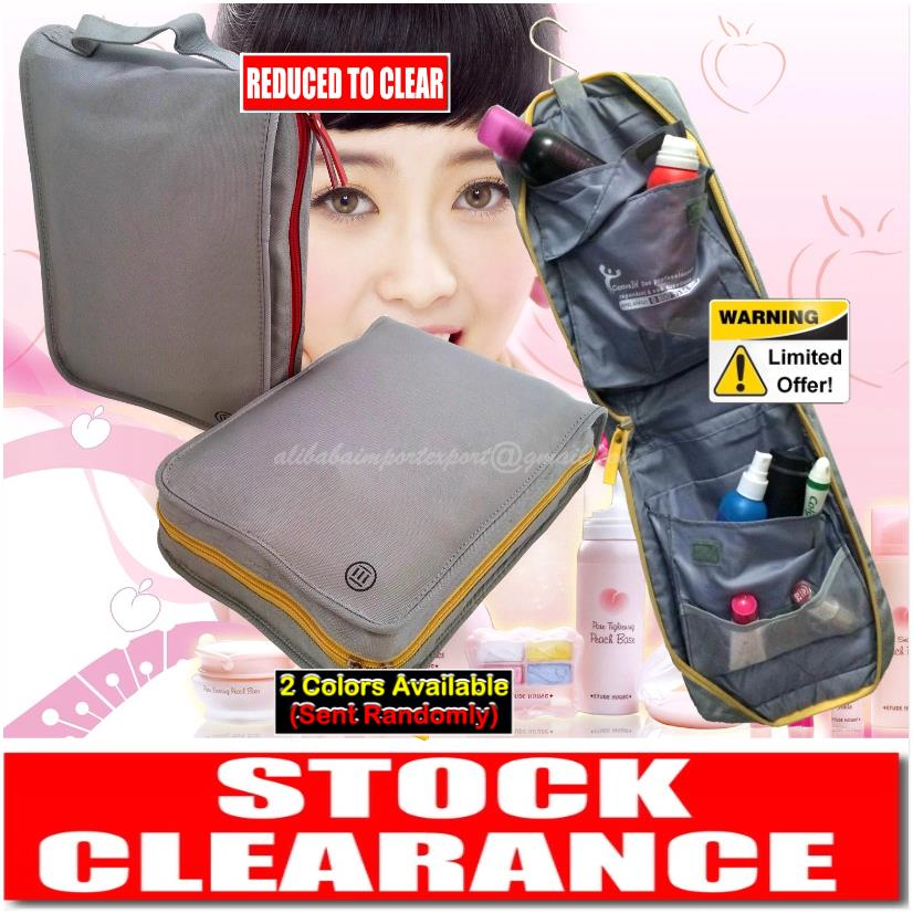 Hanging Travel Wash Bag Mens Lady Cosmetic Makeup Case Camping Toiletr