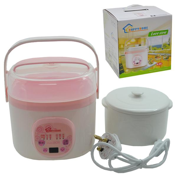 HAPPYHOME HH-010  ELECTRIC STEEL POT