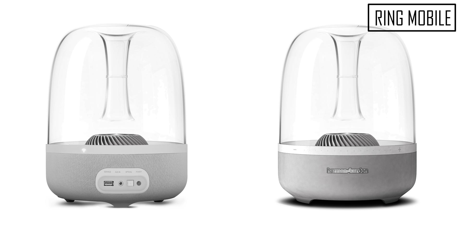 Harman Kardon Aura Bluetooth Wireless Speaker System - White