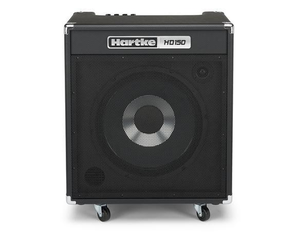 "HARTKE HD150 (150W, 1x15"") - Bass Amplifier (FREE Tuner & Guitar Cable"