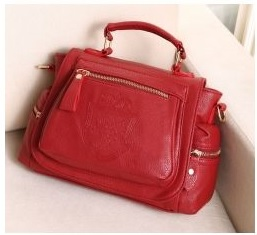 HB3376 SATCHEL BAG - RED