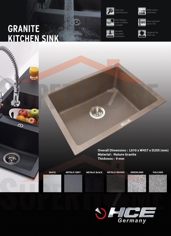 Granite Sink Price : HCE-Granite Kitchen Sink-6146 (end 7/12/2017 2:19 AM - MYT )