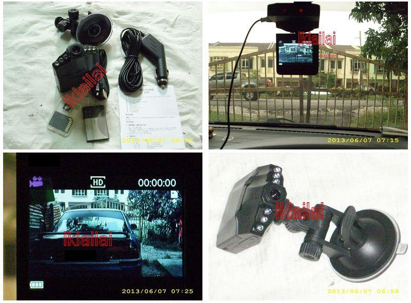 "HD DVR CAR DRIVING RECORDER with 2.5"" LCD Screen 8Gb SD Card included"