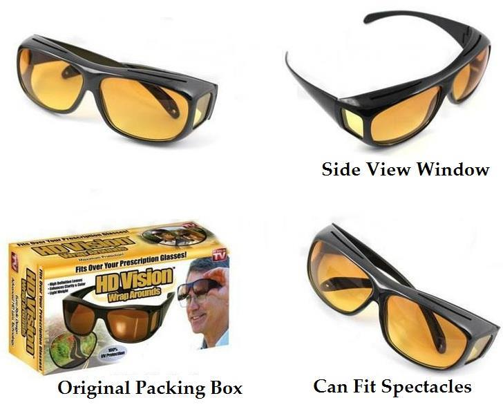 HD Vision Glasses Driving HD Vision Lenses - Sunglasses Anti Glare
