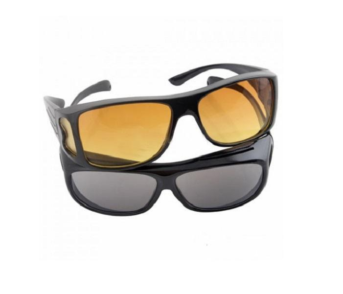 HD Vision Wrap Over Anti Glare Sunglasses Fit Arounds ...