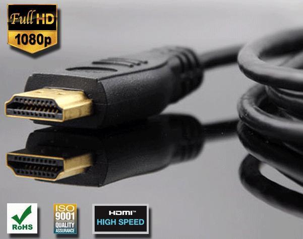 HDMI Cable Gold Plated 2M 6ft HD HDTV PS3 xBox360 BluRay 1080p k4