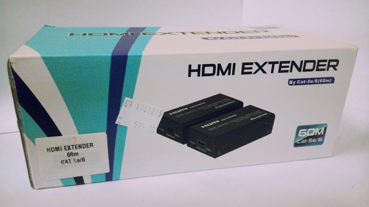 HDMI EXTENDER OVER SINGLE By CAT5e/6