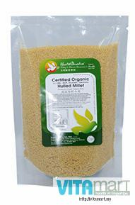 Health Paradise Organic Hulled Millet, 500gm